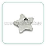 INOX - Charm estrella mini acero inoxidable CHAOOO-C19128 (20 unidades)