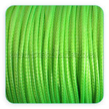 Cordón plastificado verde fluor 1,5mm