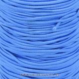Cordón de goma Azul grisáceo 2mm (15 metros)