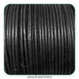 Cordón Algodón 1,5mm  Negro COR-ROD (4 metros)