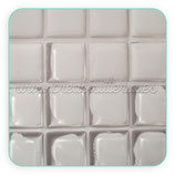 Cabuchón epoxy cuadrado 20x20 (10 unidades)