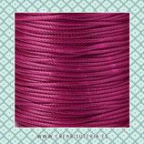 Cordón plastificado fucsia 1,5mm (4 unidades)