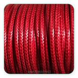 Cordón plastificado rojo ladrillo  3mm (4 metros)