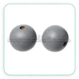 Madera abalorio gris 10mm (10 unidades) MAD-C62753
