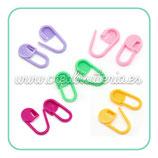 Imperdible plástico colores surtidos ACCBRO-C830094