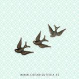 Charm ANIMALES - Pájaros - 12 -  (10 unidades)