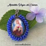 Producto Acabado - Medalla religiosa - Virgen del Carmen