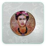 Cabuchón Cristal Frida Dorado New*