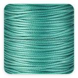 Cordón plastificado azul turquesa 2mm (4 unidades)
