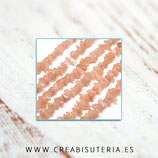 Abalorios Piedra natural Piedra de Sol  (80 cm aprox.) PIEDRASOL5/8