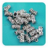 Entrepieza con ASA - EA-002 - ornam plata vieja (10piezas) ENTOOO-C00023