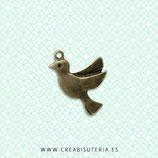 Charm ANIMALES - Pájaros - 13 - Paloma  (10 unidades)