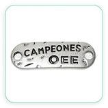 """Conector mensaje """"campeones oee"""" CON-C57335"""