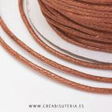 Cordón algodón encerado color Avellana 1,5mm (4 metros)