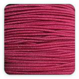 Cordón de goma GRANATE  1mm (15metros)