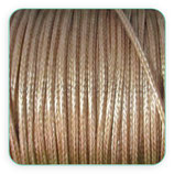 Cordón plastificado color CAMEL 1,5mm (4 metros)