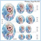 Imagen Monotema Formato ovalado Frozen Elsa 002