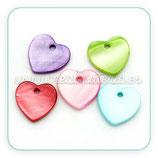 Concha en forma de corazón (10 unidades) CONCH-Corazones