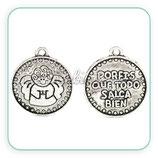 "Charm medalla ""Porfis"" CHAOOO-L01"