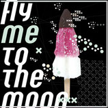 TUCH  // FLY ME TO THE MOON schwarz