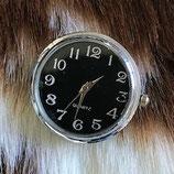 Horloge XL chunk zwart