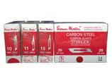 Swann Morton mesjes rood steriel