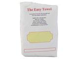 Easy Towel, handige haardoek die niet van het hoofd afvalt kleur wit.