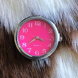 Horloge XL chunk roze