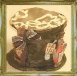 アリスのお茶会♪大きなハット型ティーコージー