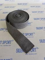Silent Sport Auspuffband / Hitzeschutzband Grau