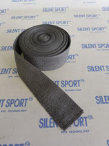 Silent Sport Auspuffband / Hitzeschutzband - Reststücke Grau
