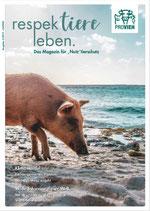 """respektiere leben. Das Magazin für """"Nutz""""tierschutz (Ausgabe 02-2019)"""