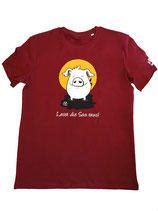 """Herren T-Shirt mit Schweinemotiv """"Lasst die Sau raus!"""""""
