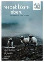 """respektiere leben. Das Magazin für """"Nutz""""tierschutz (Ausgabe 01-2019)"""
