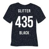 435   glitter black
