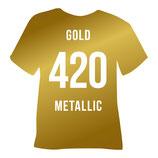 420   gold metallic