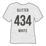 434   glitter white