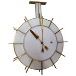 Large Telenorma TN Double Faced Station or Factory Clock