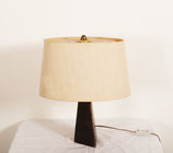 Midcentury Goatskin Table Lamp by Aldo Tura