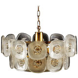 Beautiful Chandelier by Orrefors from the 1960s