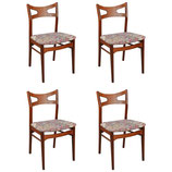 Set of Four Dining Room Chairs in the Art of Hans Wegner