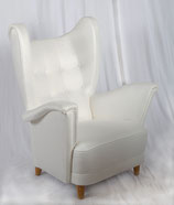 Scandinavian Wingback Easy Chair from early 1950s