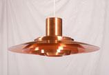 Copper Pendant by Preben Fabricius & Jørgen Kastholm