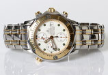 Omega Seamaster Diver 300 M Chronograph Stahl Gold