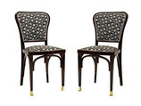 Dining Room Chairs by Gustav Siegel for J. J. Kohn Model 717