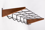 Danish Midcentury Coat Rack Wardrobe