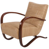 Art Deco Thonet H269 Armchair by Jindrich Halabala