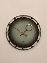 German TN Telenorma Brass Wall Clock
