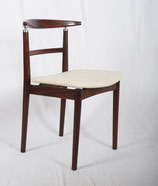 Set of Four Danish Rosewood Dining Chairs by Helge Sibast and Borge Rammeskov