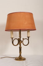 Vintage English Brass Table Lamp